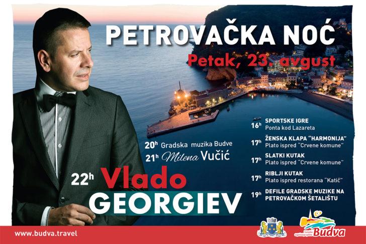 """Uvodna slika za Vlado Georgiev 23. avgusta na """"Petrovačkoj noći"""""""