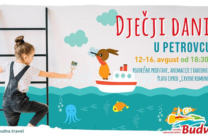 Uvodna slika za Dječji dani u Petrovcu