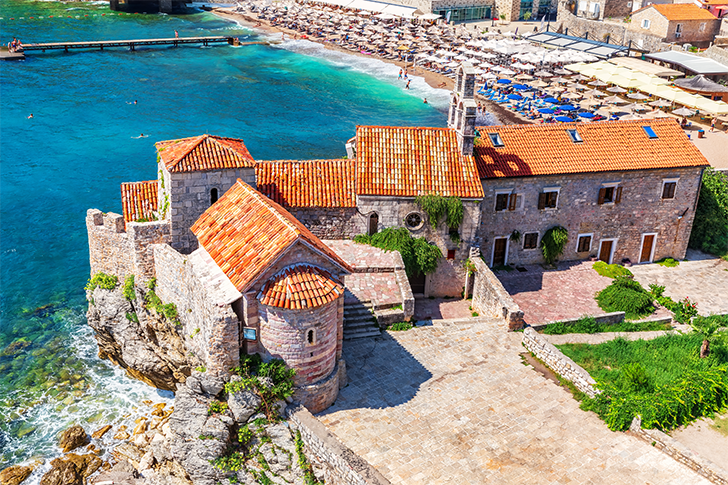 budva-marina montenegro beach budva-hotels budva-beach